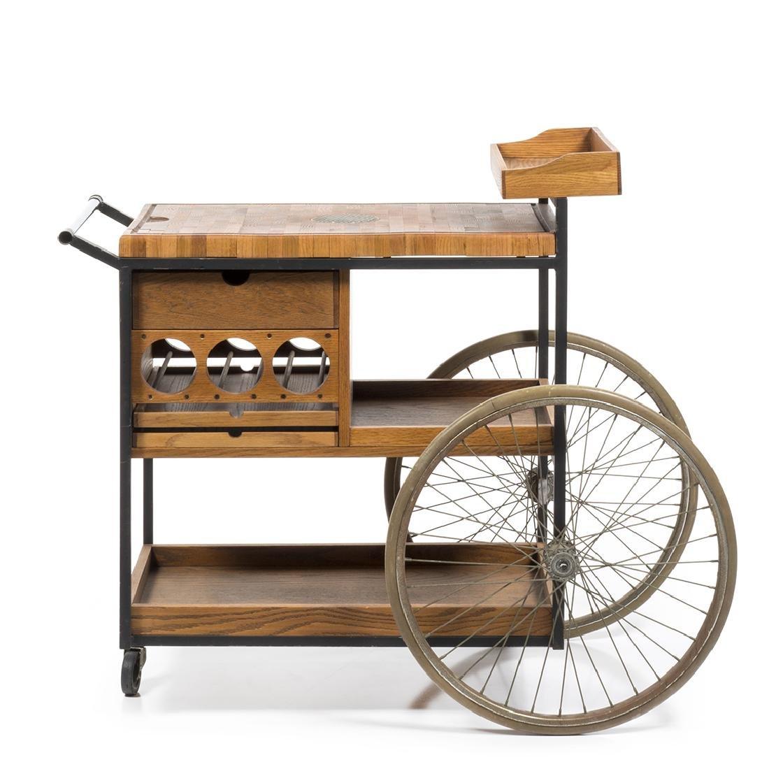 Arthur Umanoff Bar Cart - 2