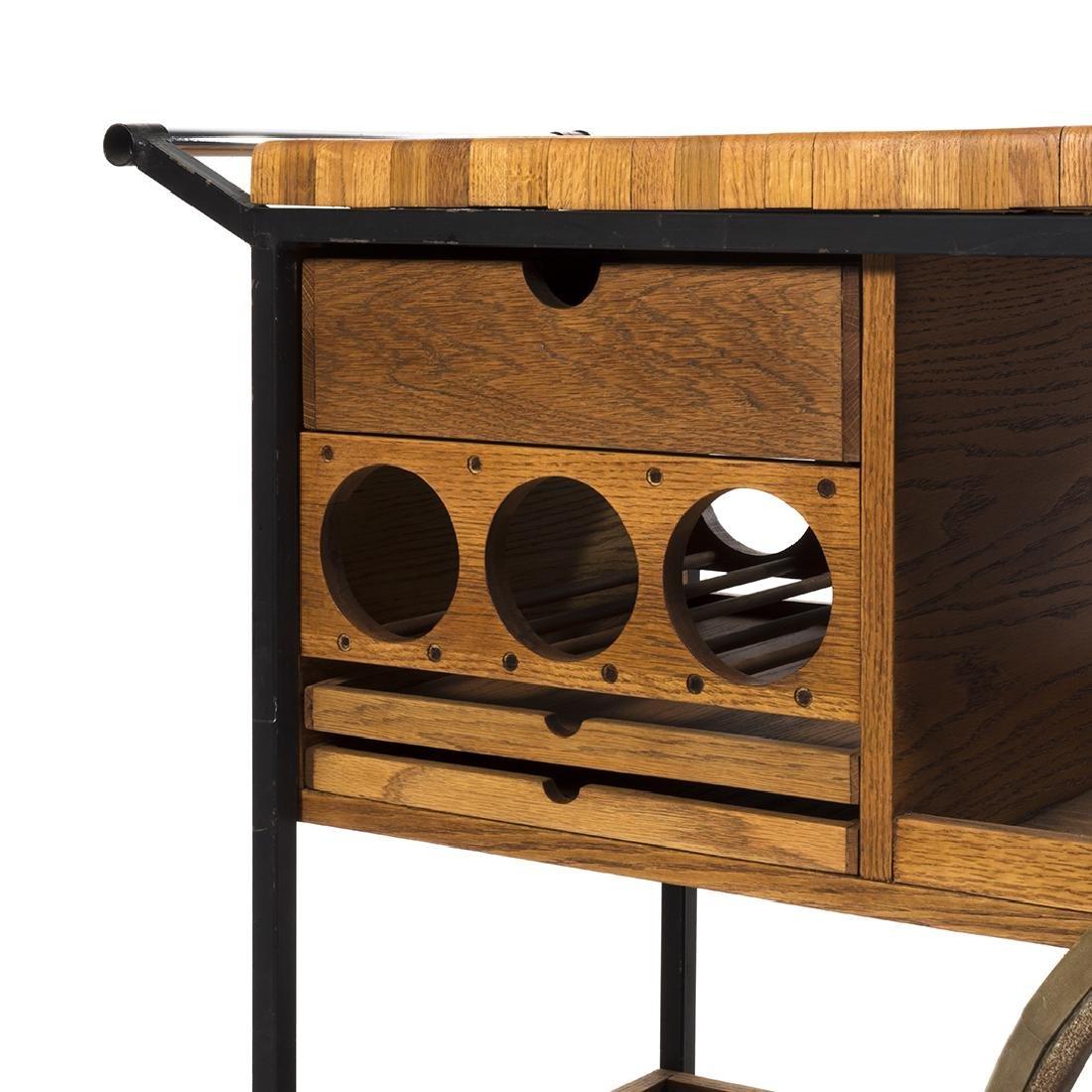 Arthur Umanoff Bar Cart - 4