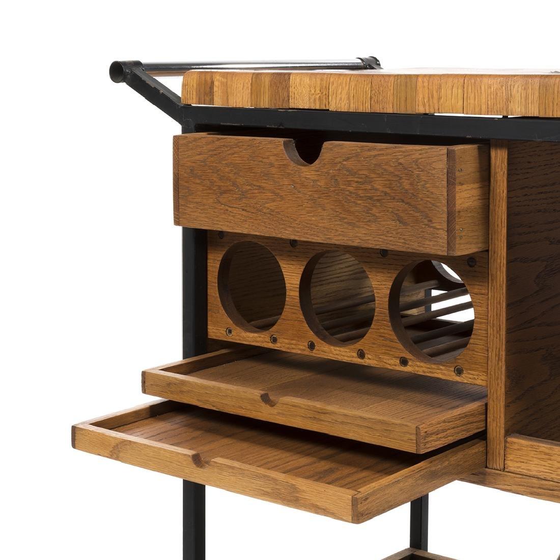 Arthur Umanoff Bar Cart - 5