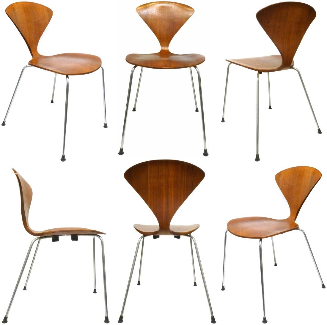 Norman Cherner Chairs (6)