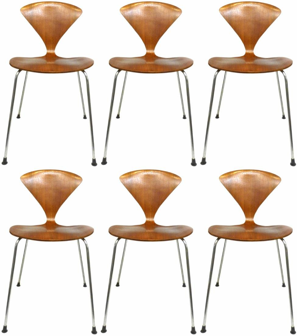 Norman Cherner Chairs (6) - 3