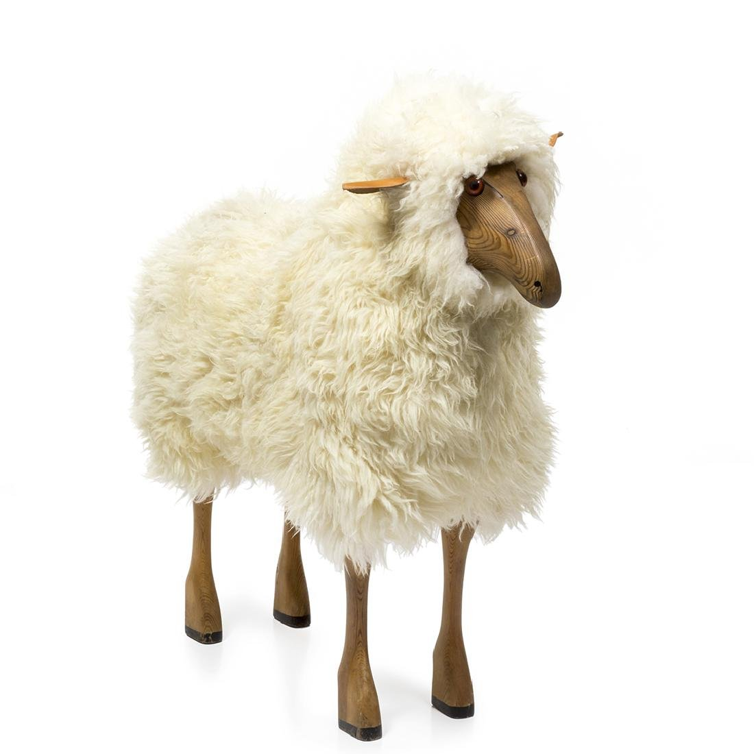 Francois Xavier Lalanne Style Sheep