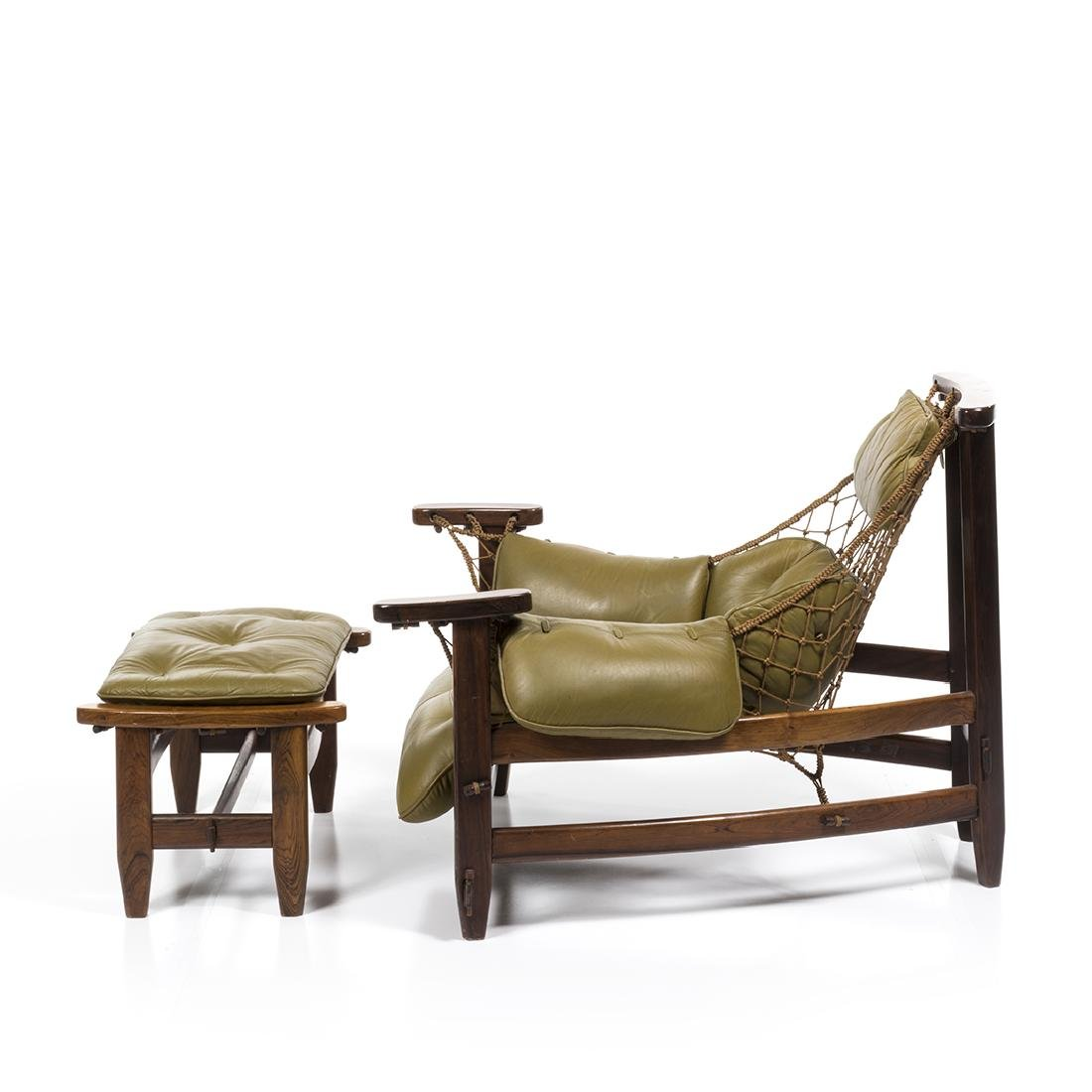 Jean Gillon Lounge Chair and Ottoman (2) - 2