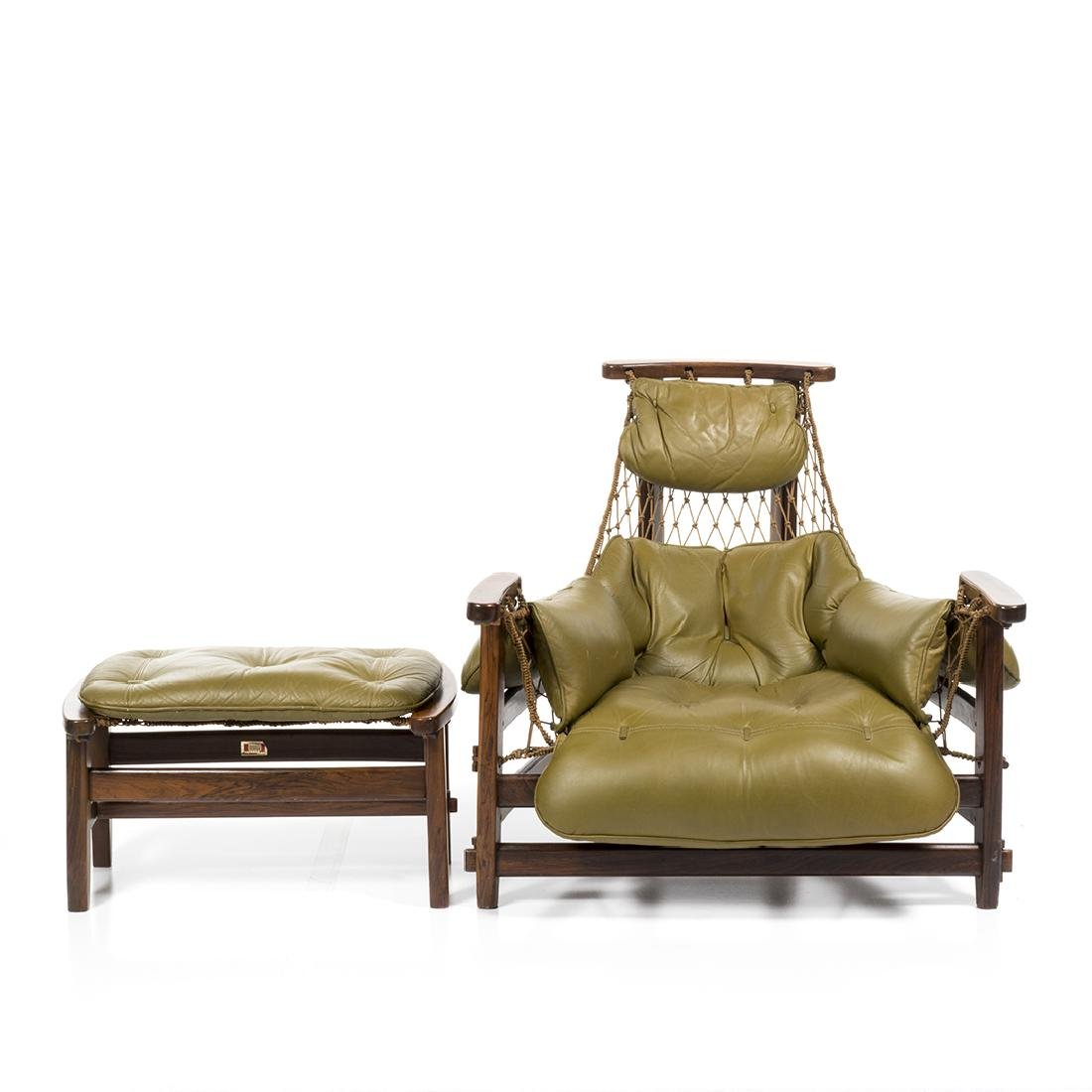 Jean Gillon Lounge Chair and Ottoman (2) - 3