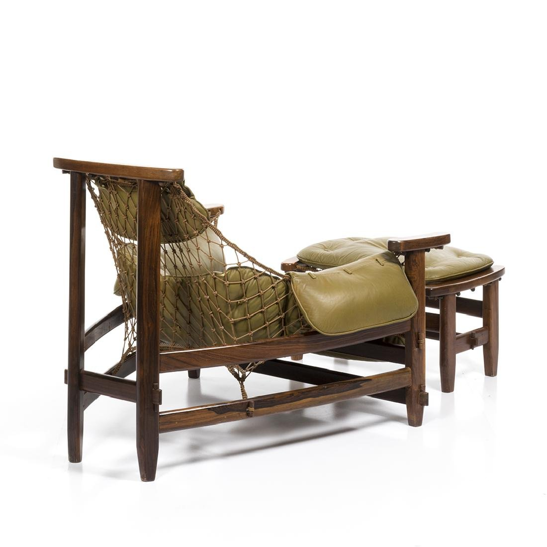 Jean Gillon Lounge Chair and Ottoman (2) - 4