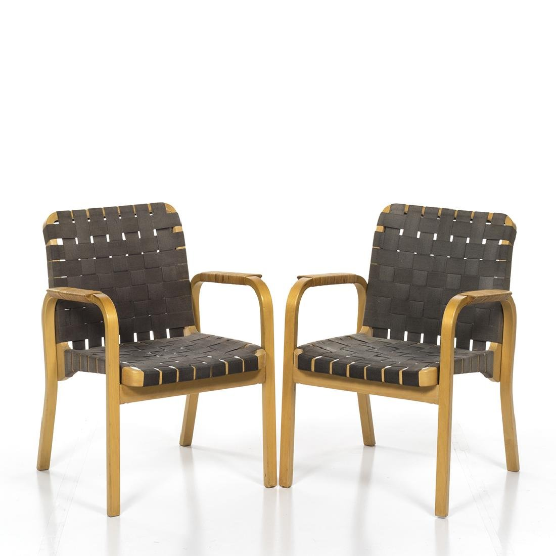 Alvar Aalto Model 611 Chairs (6) - 3
