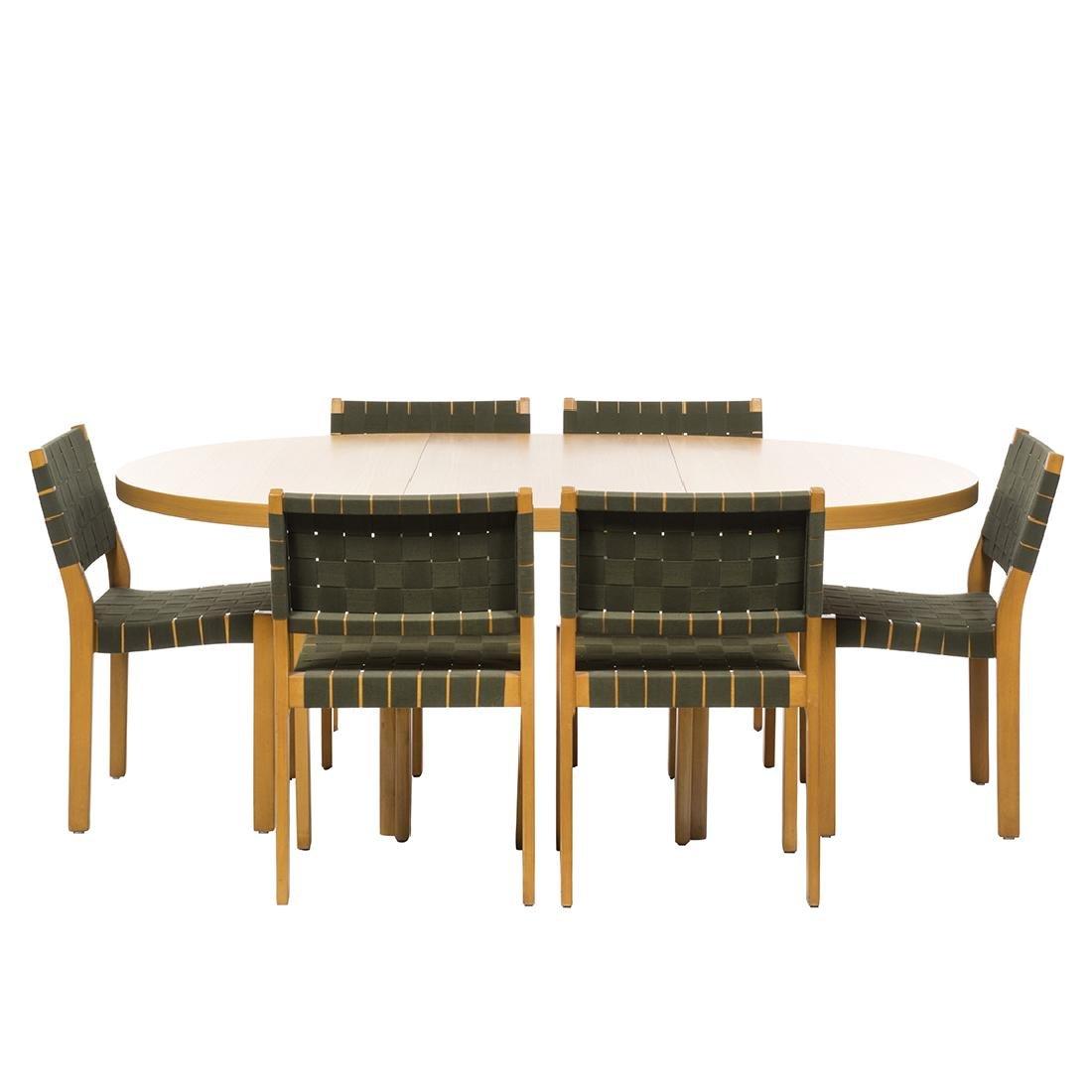 Alvar Aalto Dining Set (9)