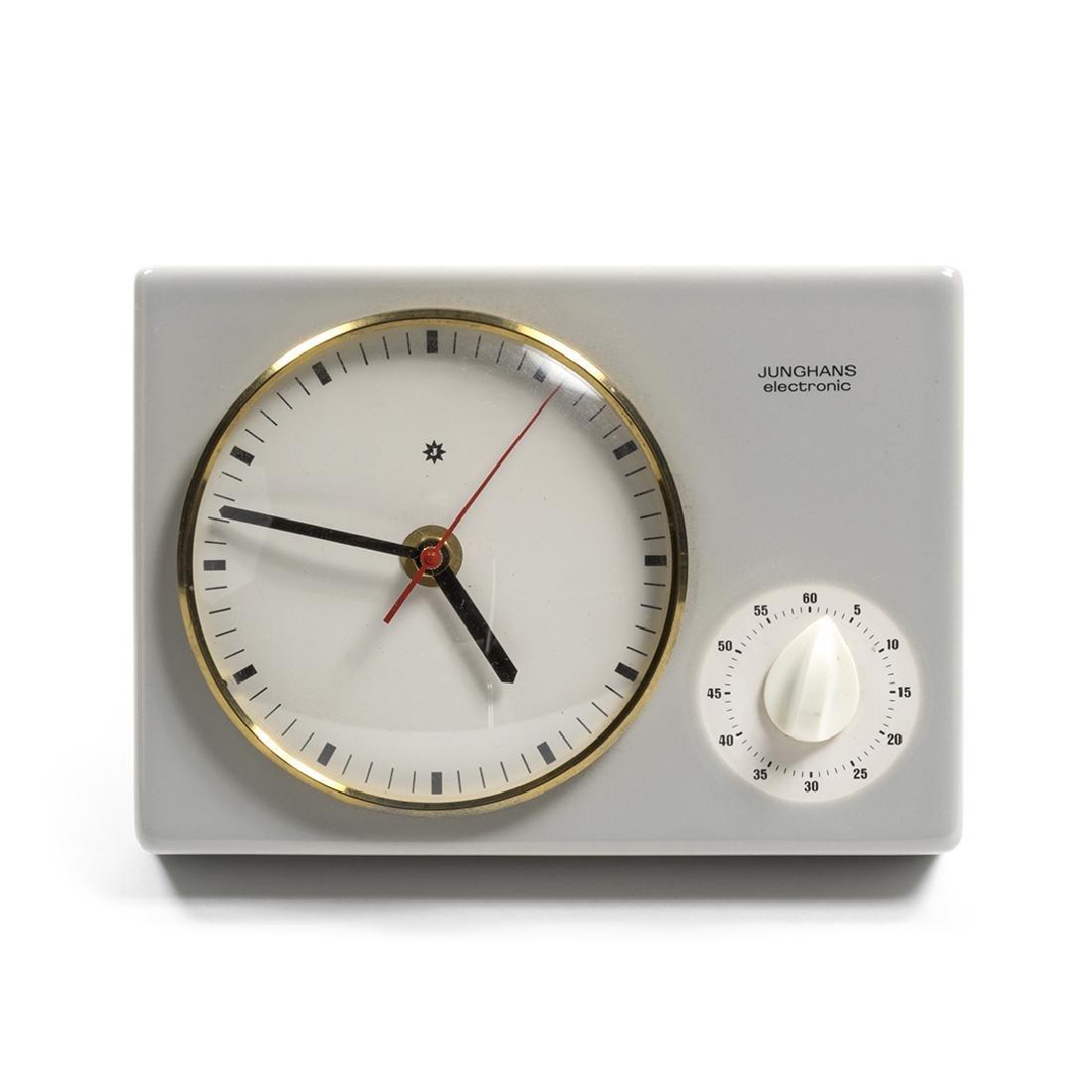 Max Bill Clock
