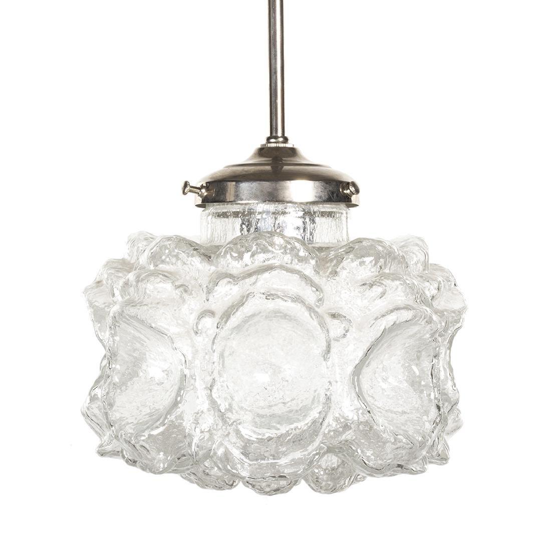 Textured Glass Pendant Lamp