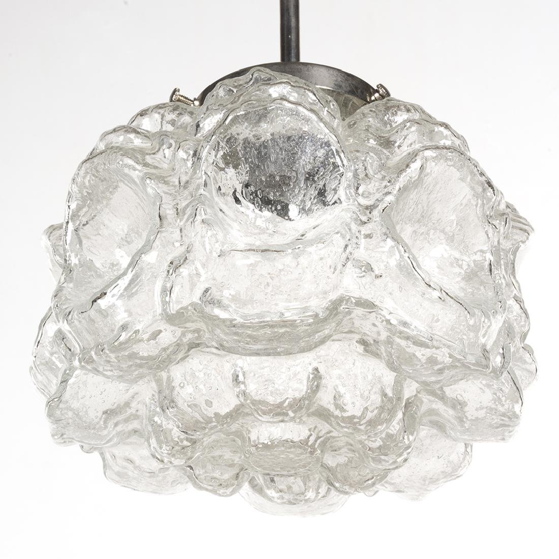 Textured Glass Pendant Lamp - 4