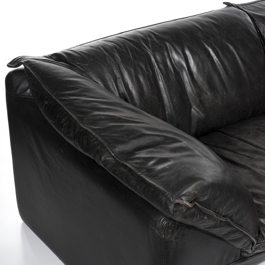 Neil Eilersen Buffalo Leather Sofa - 3