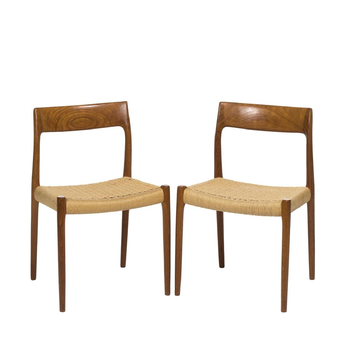 Niels Moller Model 77 Chairs (2)