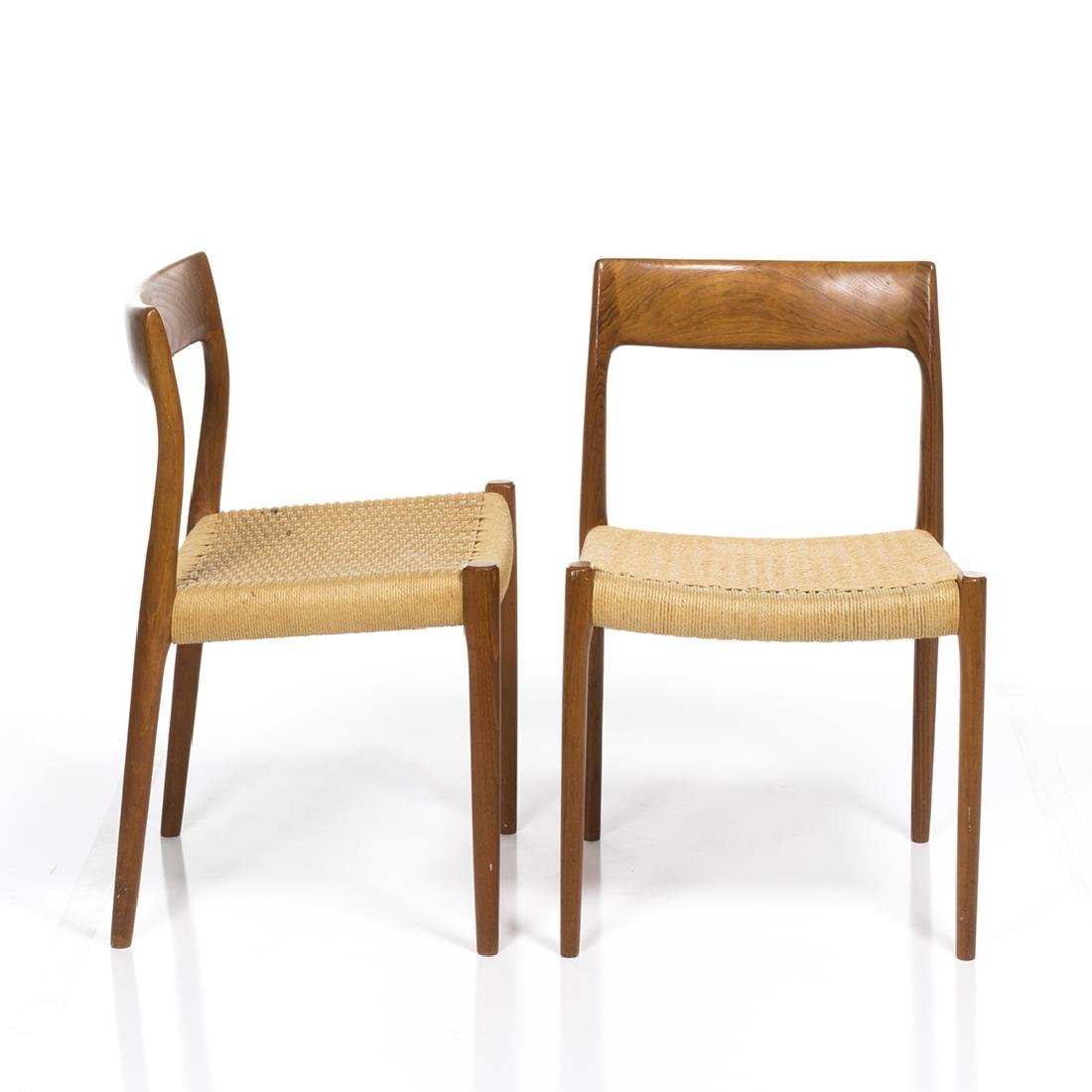 Niels Moller Model 77 Chairs (2) - 2