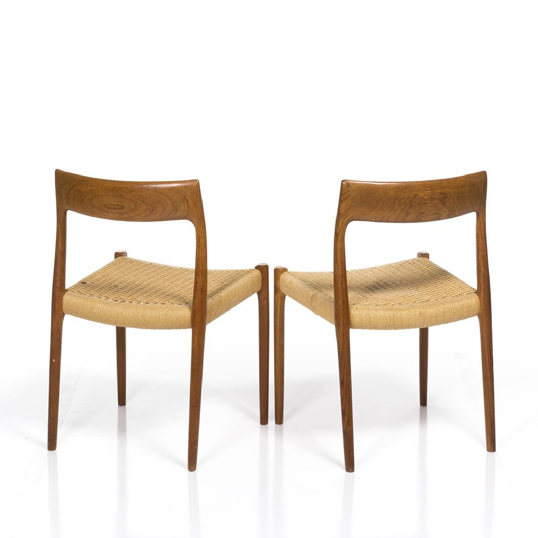 Niels Moller Model 77 Chairs (2) - 3