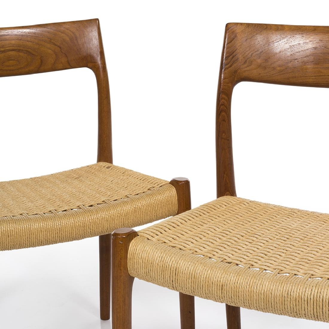 Niels Moller Model 77 Chairs (2) - 4