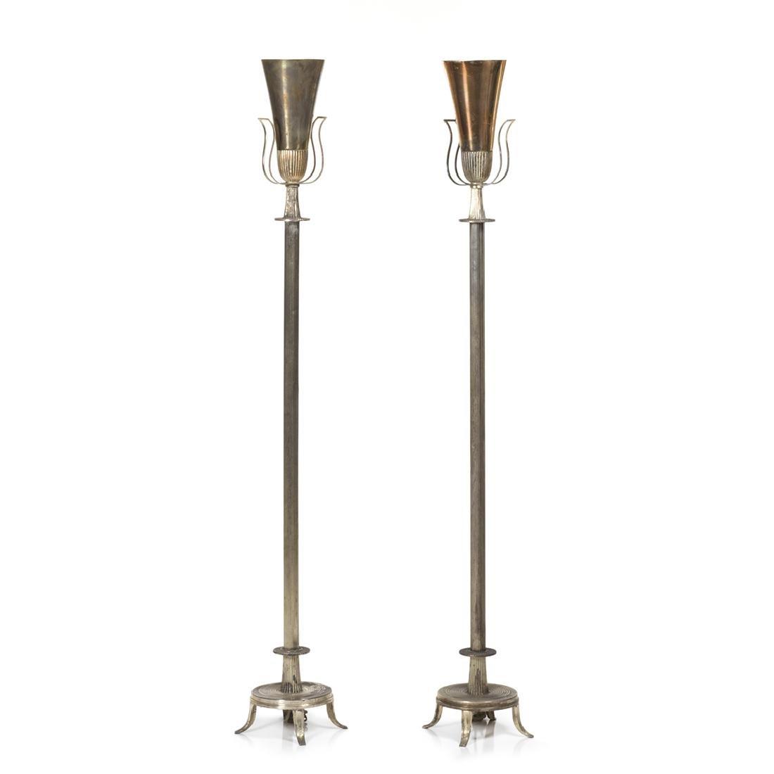 Tommi Parzinger Floor Lamps (2)