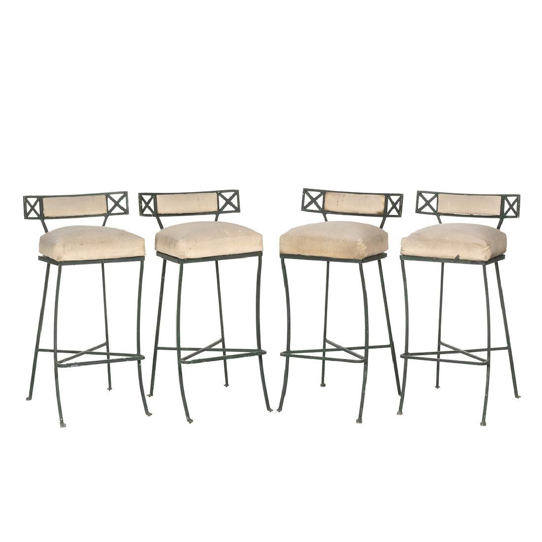 Tommi Parzinger Style Bar Stools (4)