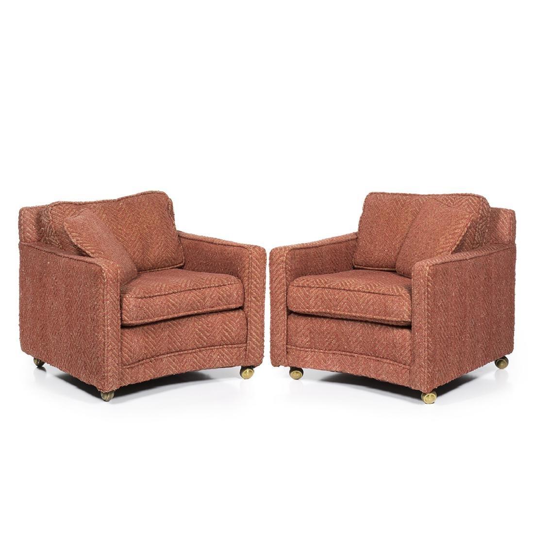 T.H. Robsjohn-Gibbings Club Chairs