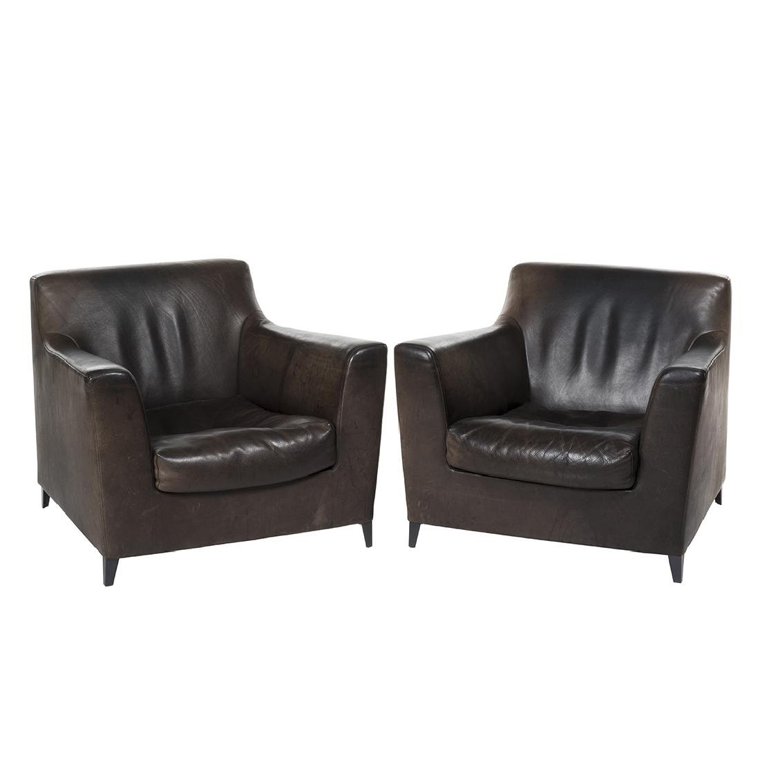 Ligne Roset Club Chairs (2)