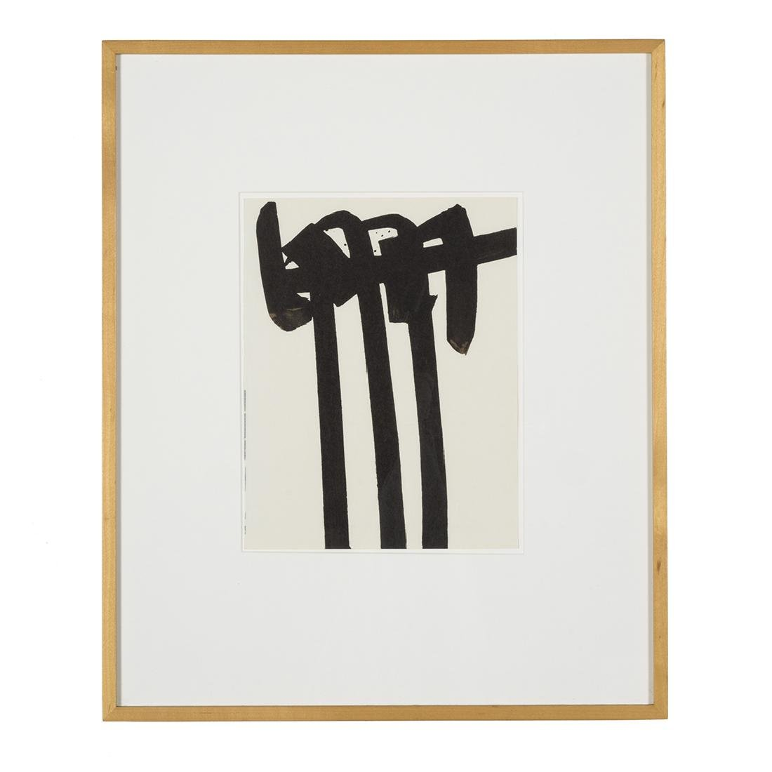 Pierre Soulages Lithographie Number 28