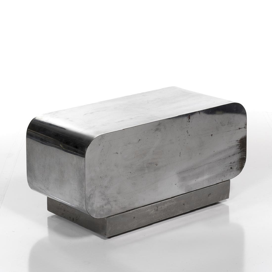 Karl Springer Chrome Table - 2