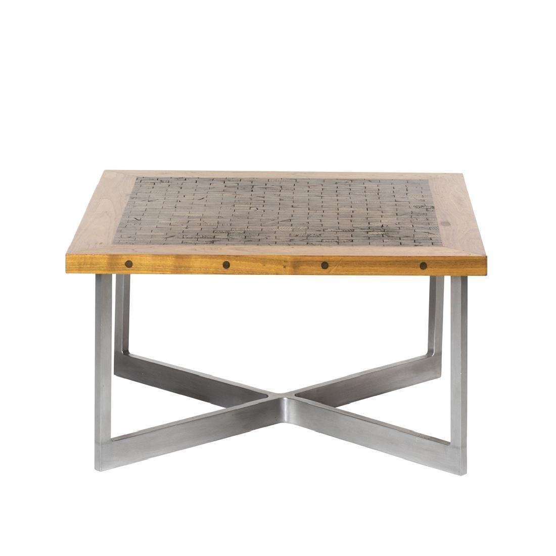 Butcher Block Craft Coffee Table