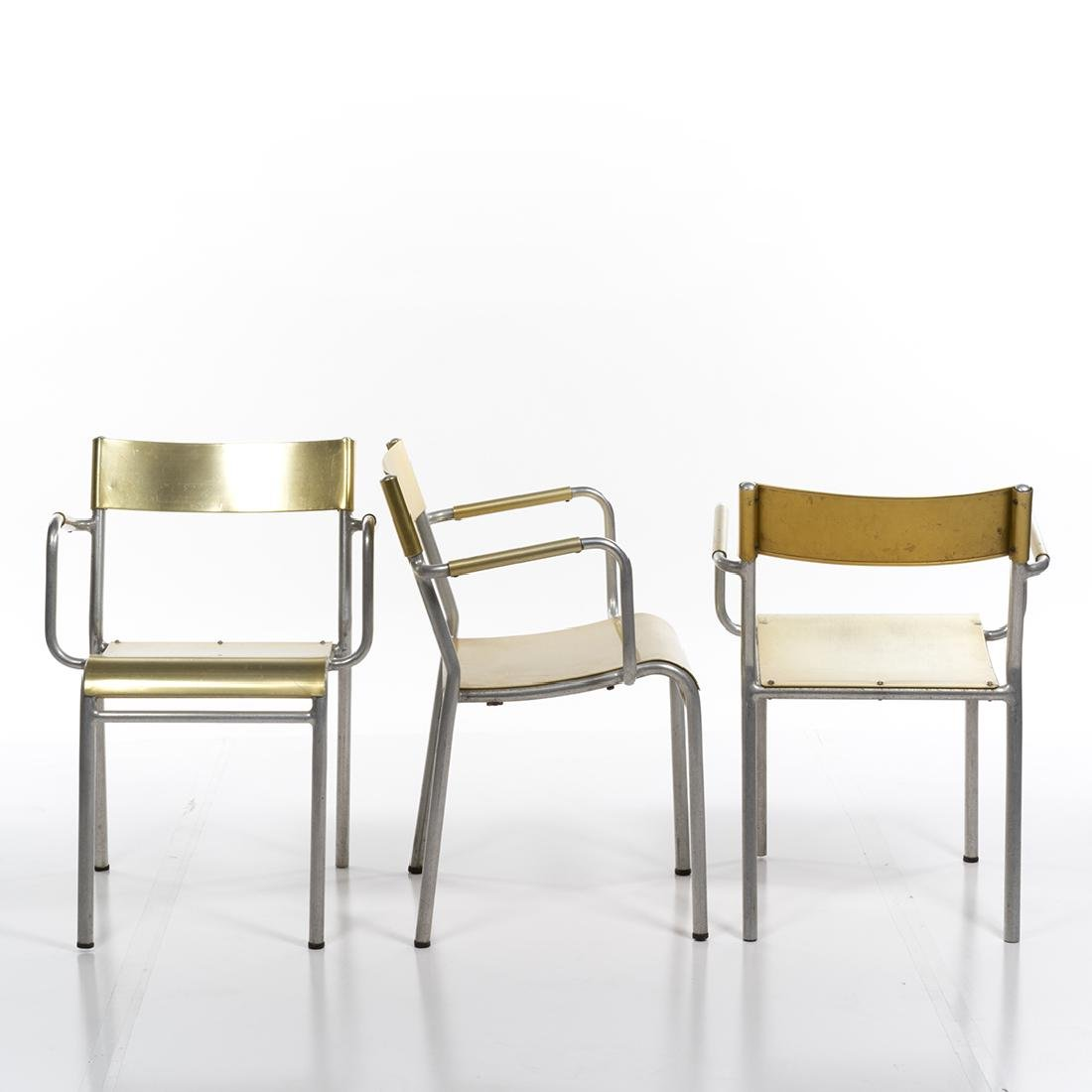 Franco Albini Attributed Stacking Chairs (3) - 3