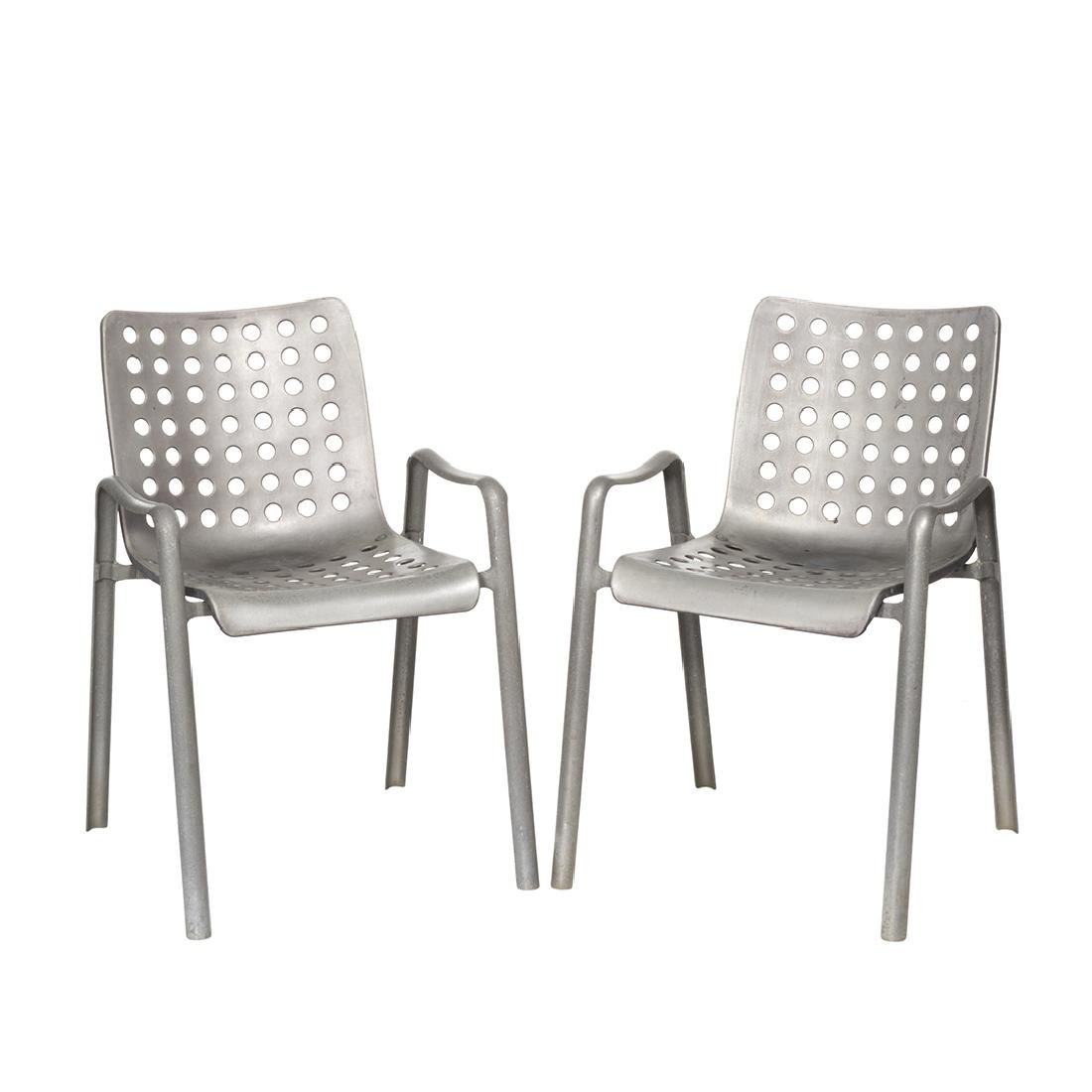 Hans Coray Landi Chairs (2)