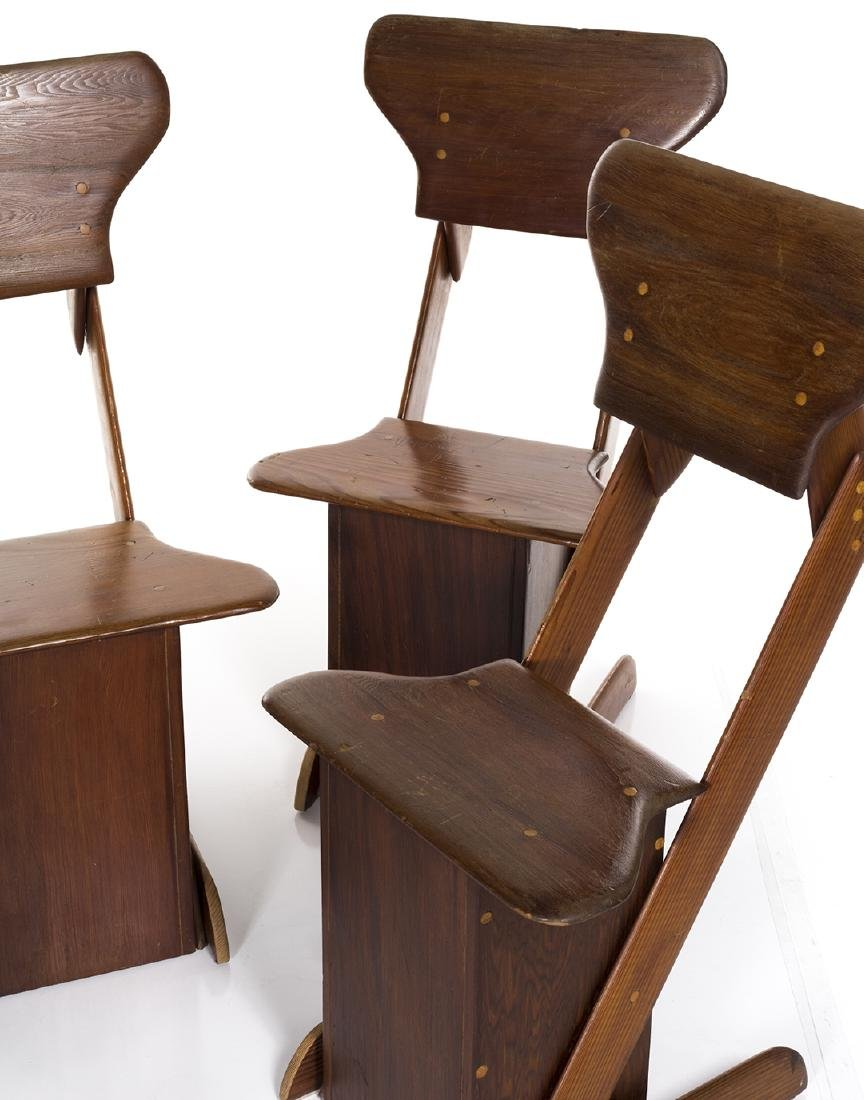 Pine Craft Dining Chairs (4) - 4
