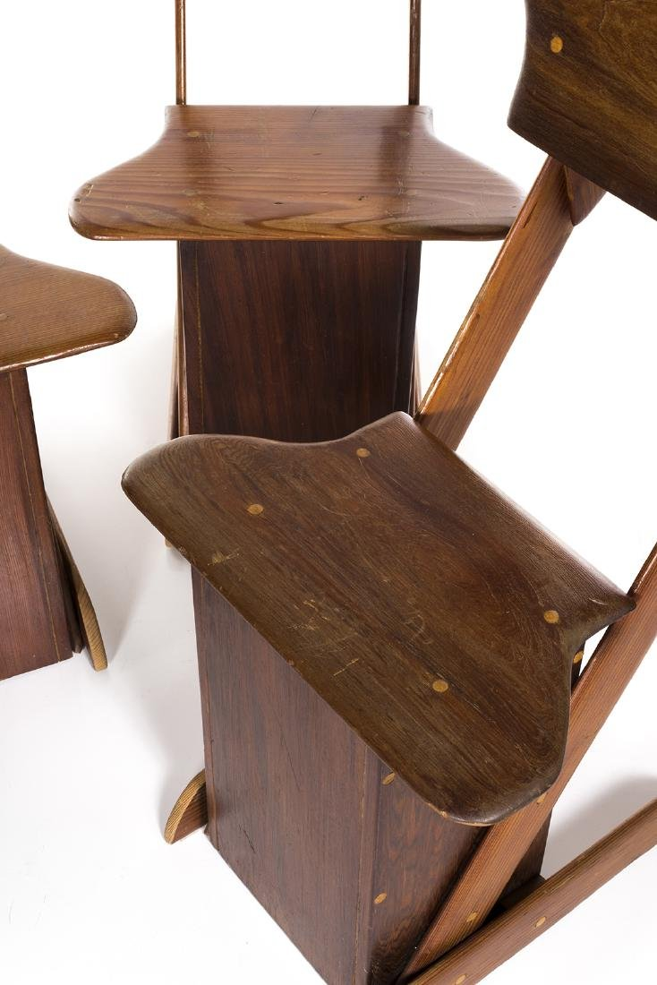 Pine Craft Dining Chairs (4) - 5