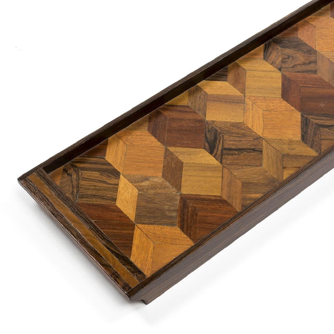 Don Shoemaker Rosewood Tray - 3