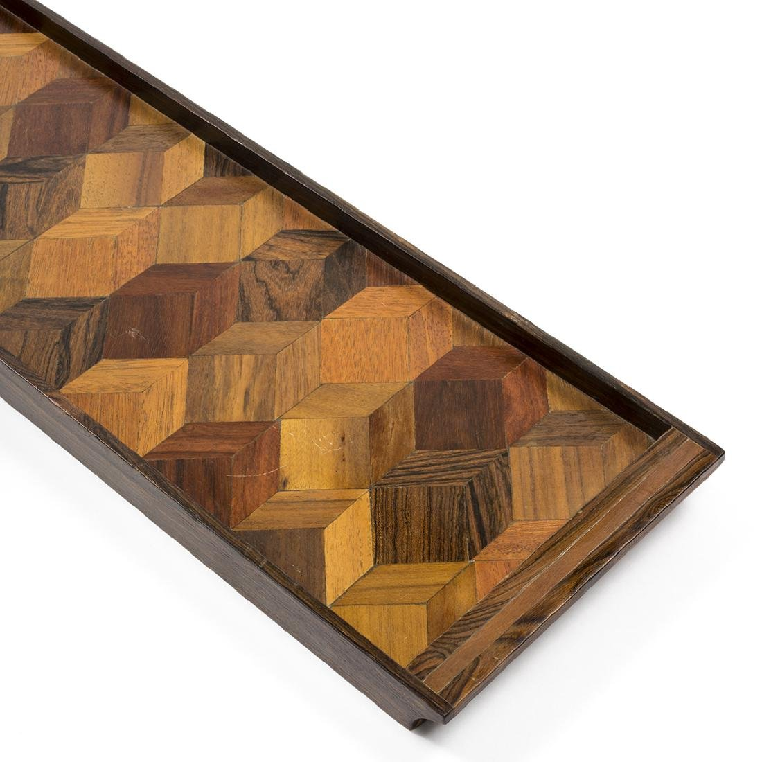 Don Shoemaker Rosewood Tray - 4