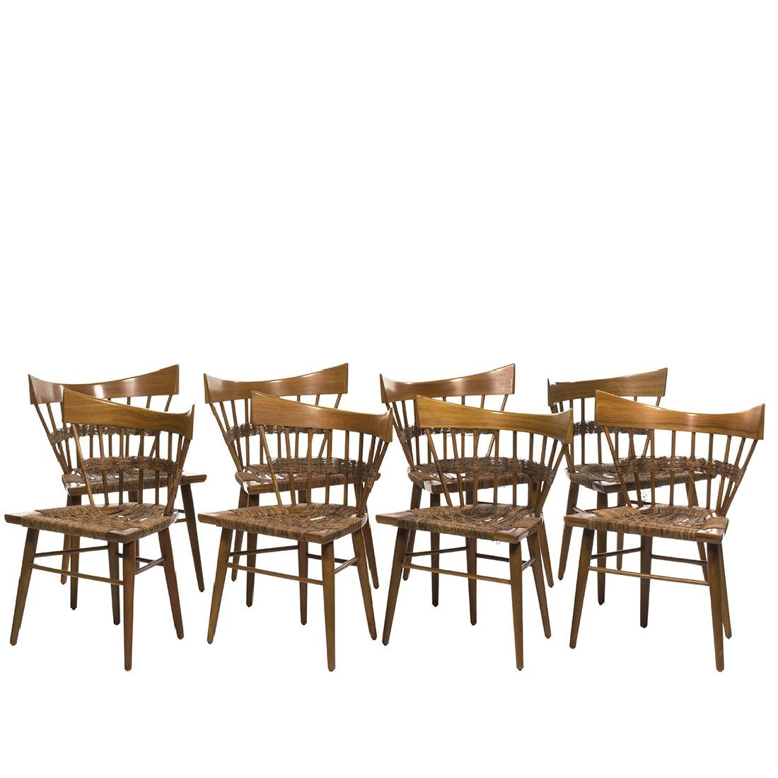 Edmund Spence Dining Chairs (8)