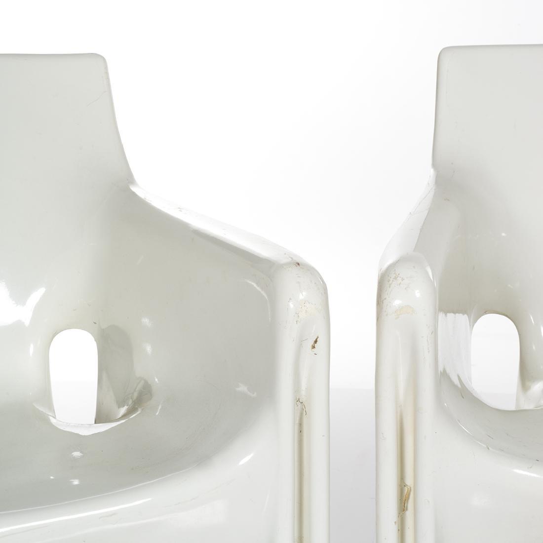 Vico Magistretti Gaudi Chairs (4) - 3