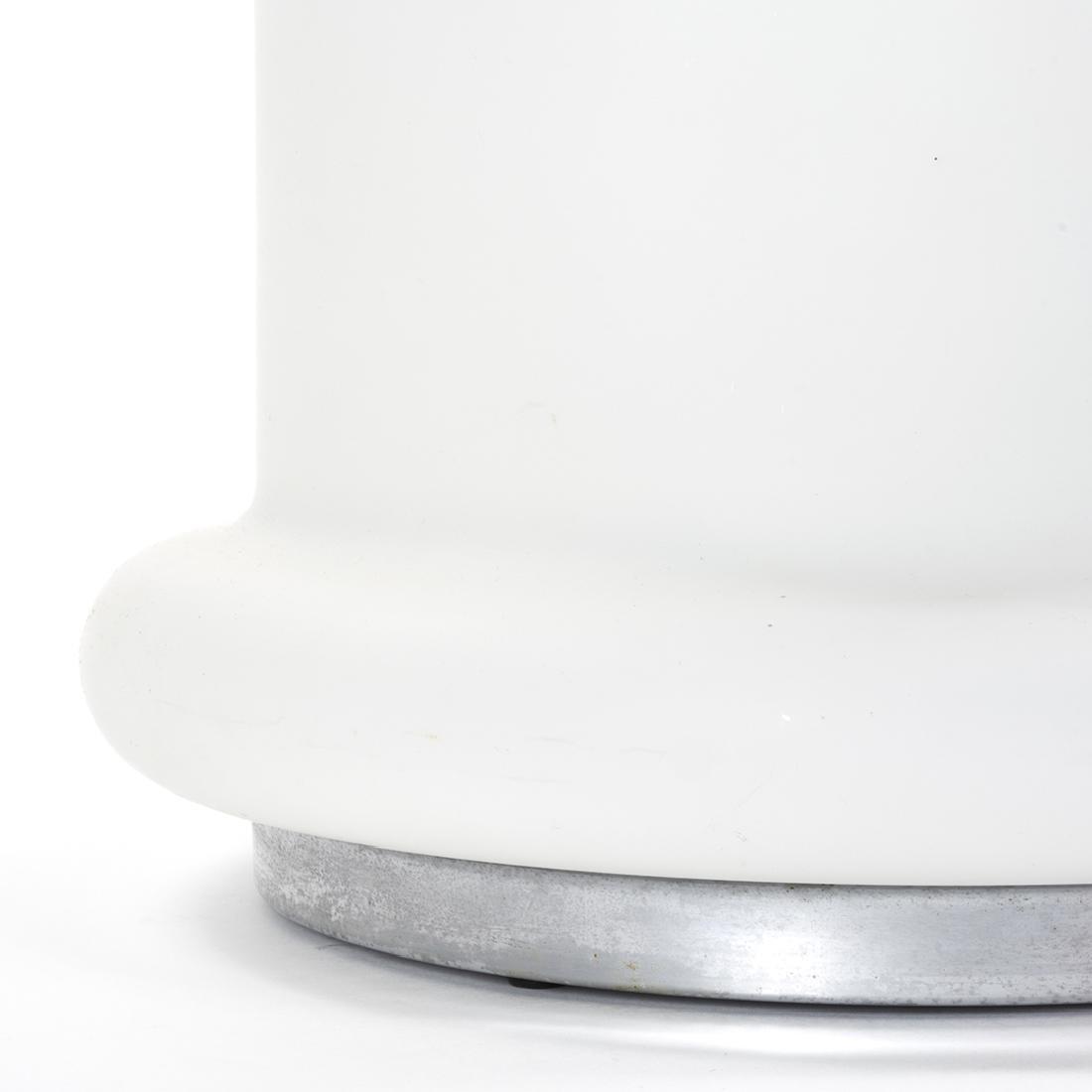 Illuminated Glass Drum Table - 3