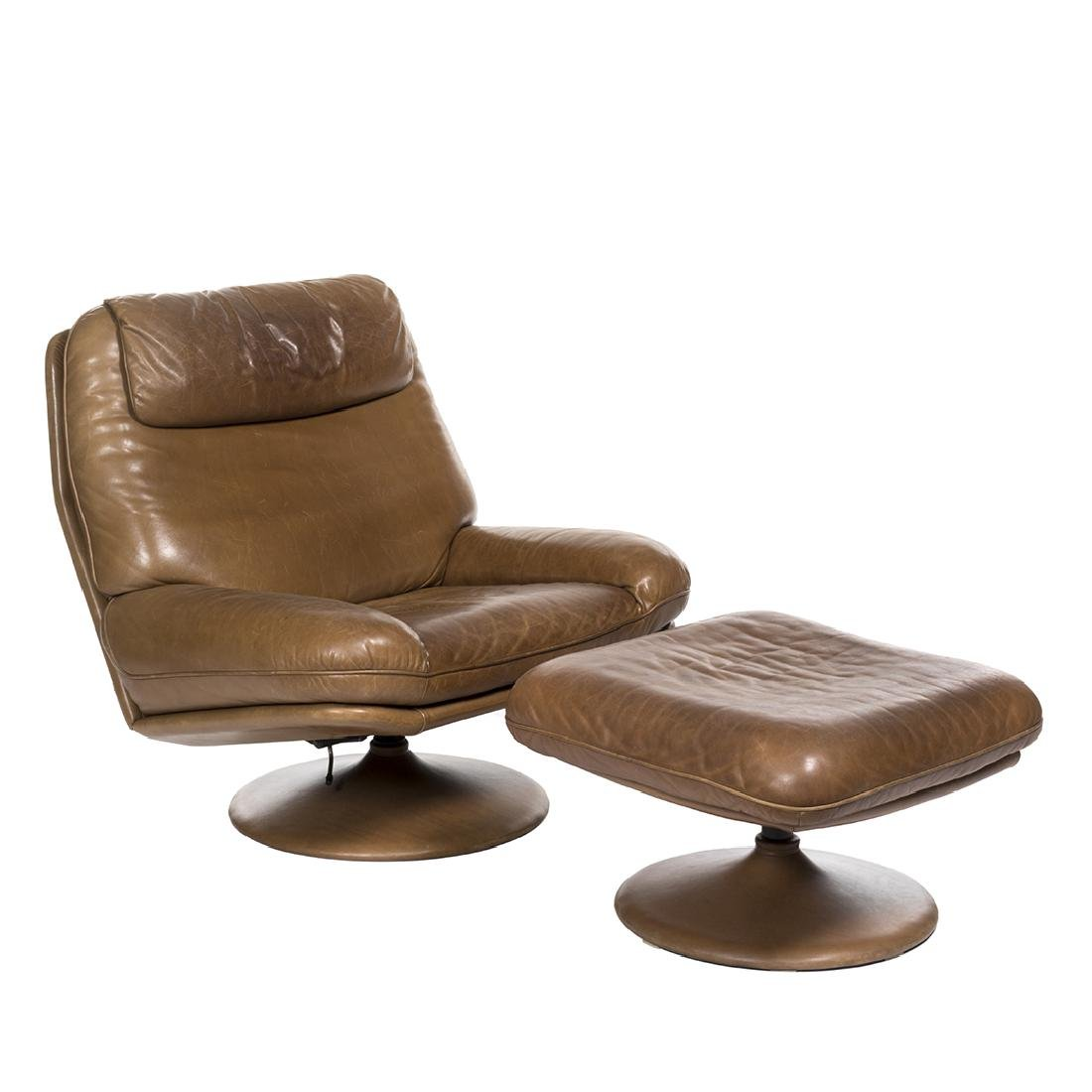 de Sede Lounge Chair and Ottoman