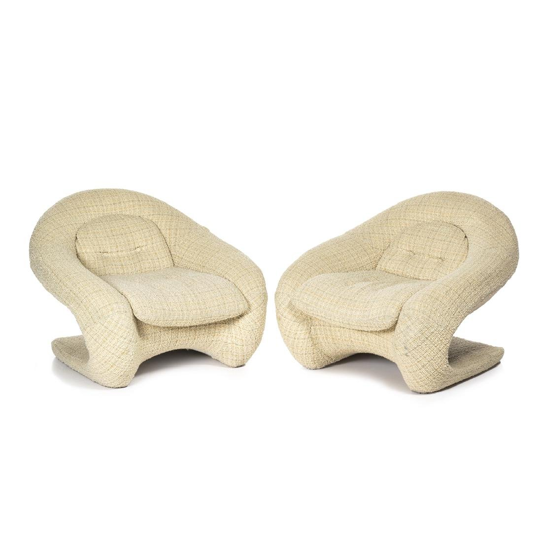 R. Huber Lounge Chairs (2)