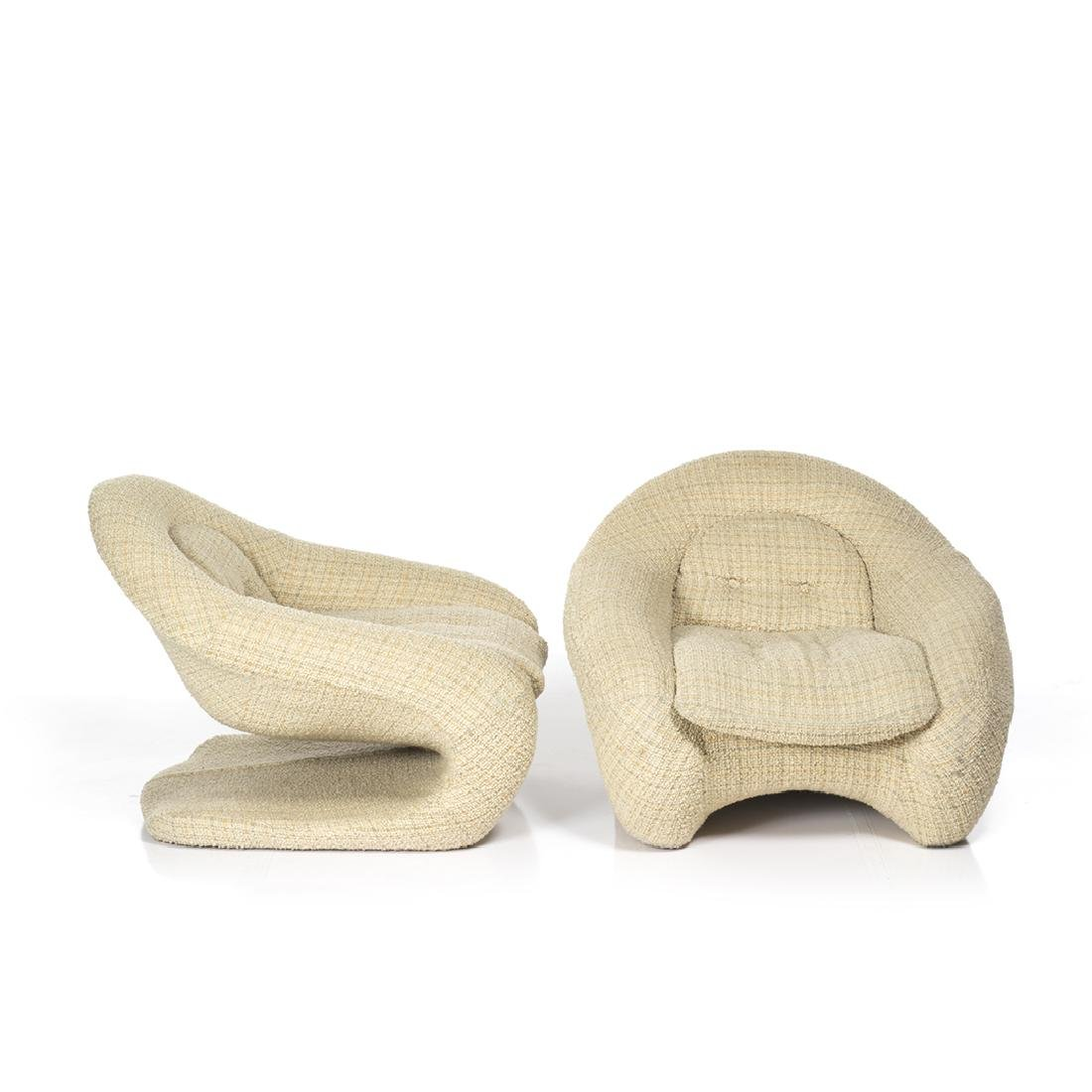 R. Huber Lounge Chairs (2) - 2