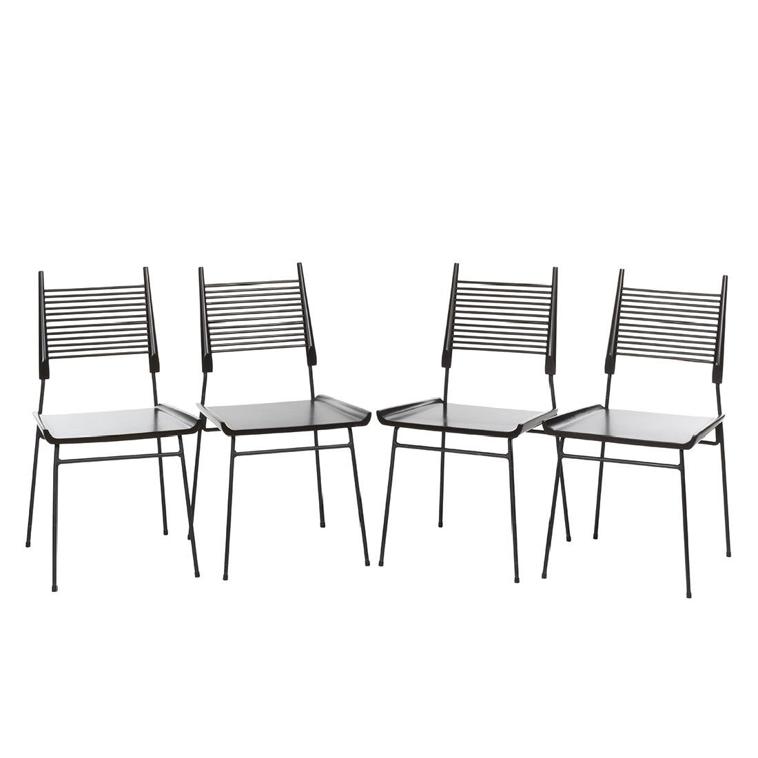 Paul McCobb Shovel Chairs (4)