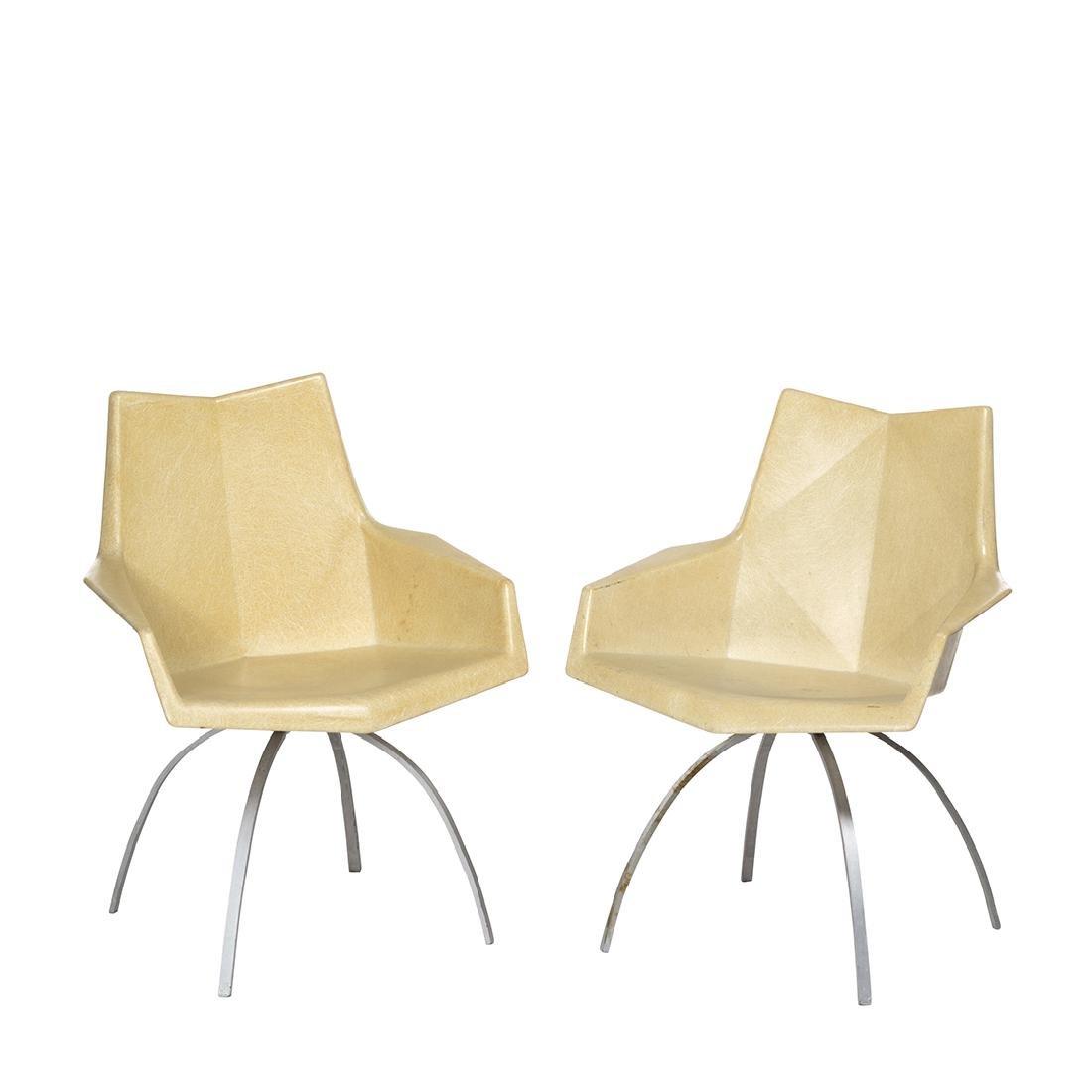 Paul McCobb Origami Chairs (2)