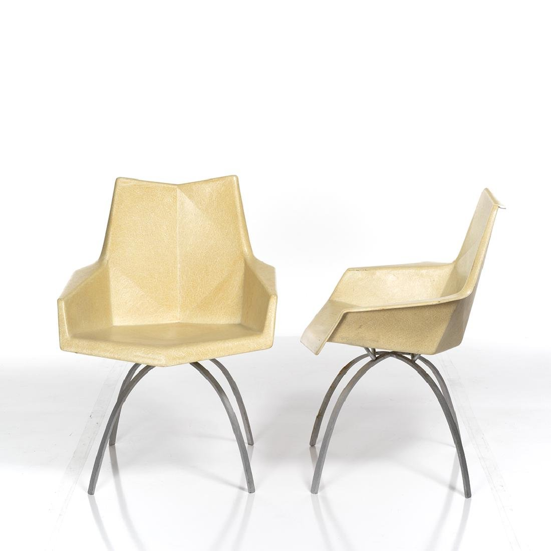 Paul McCobb Origami Chairs (2) - 2