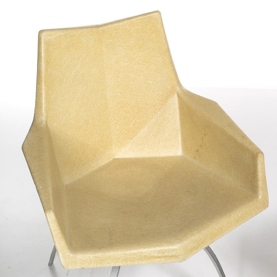 Paul McCobb Origami Chairs (2) - 4