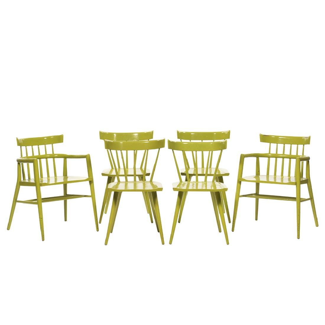 Paul McCobb Dining Chairs (6)