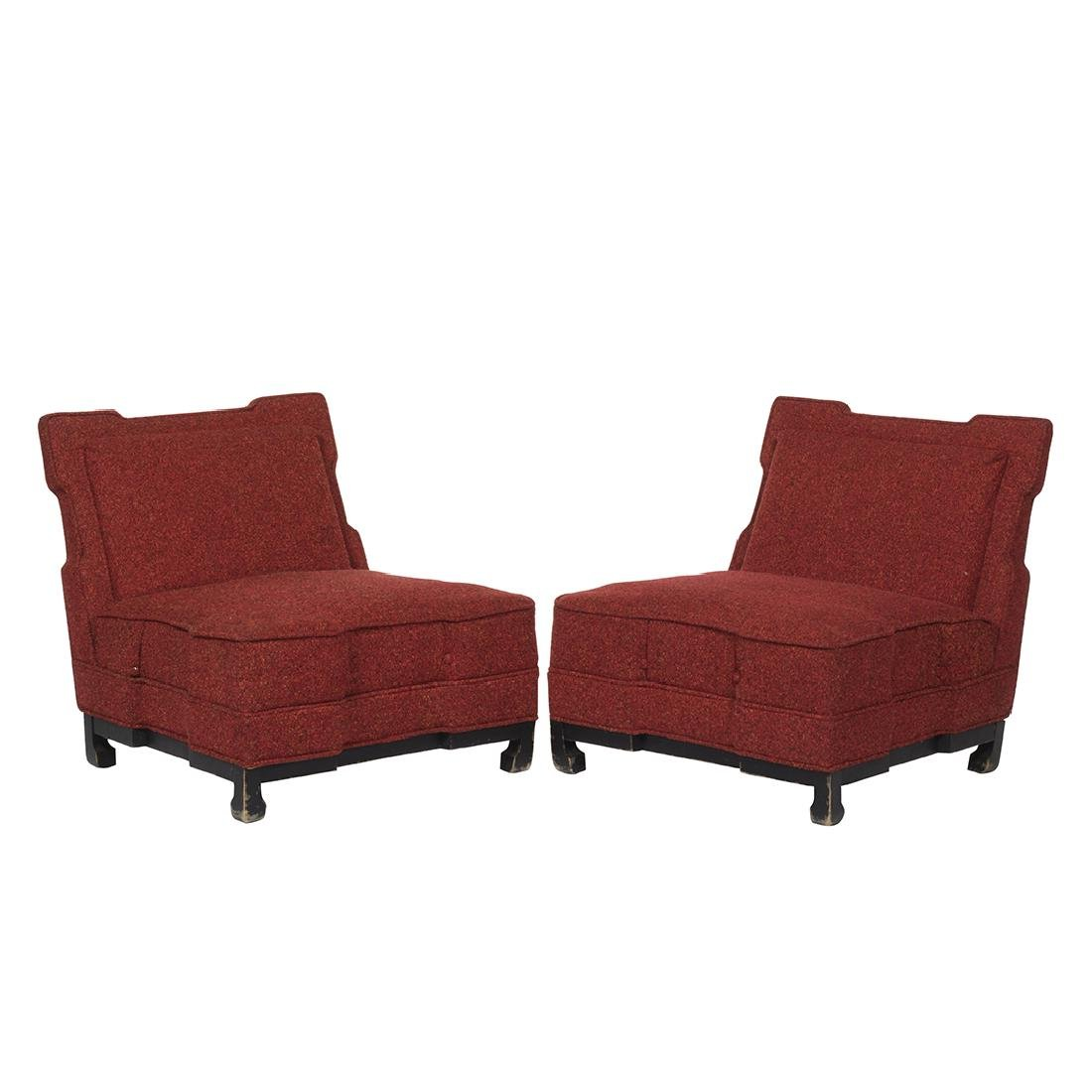 James Mont Style Club Chairs