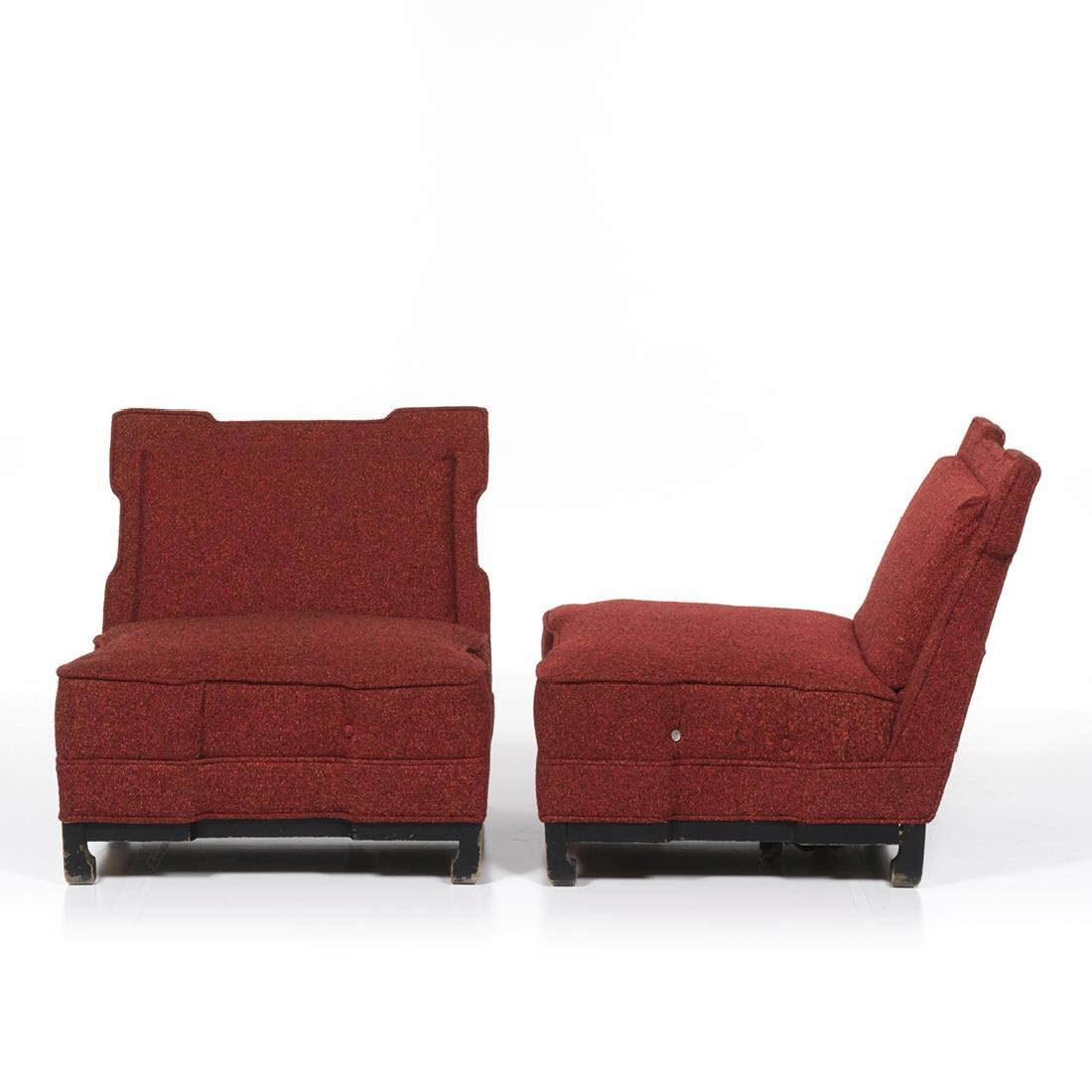 James Mont Style Club Chairs - 2
