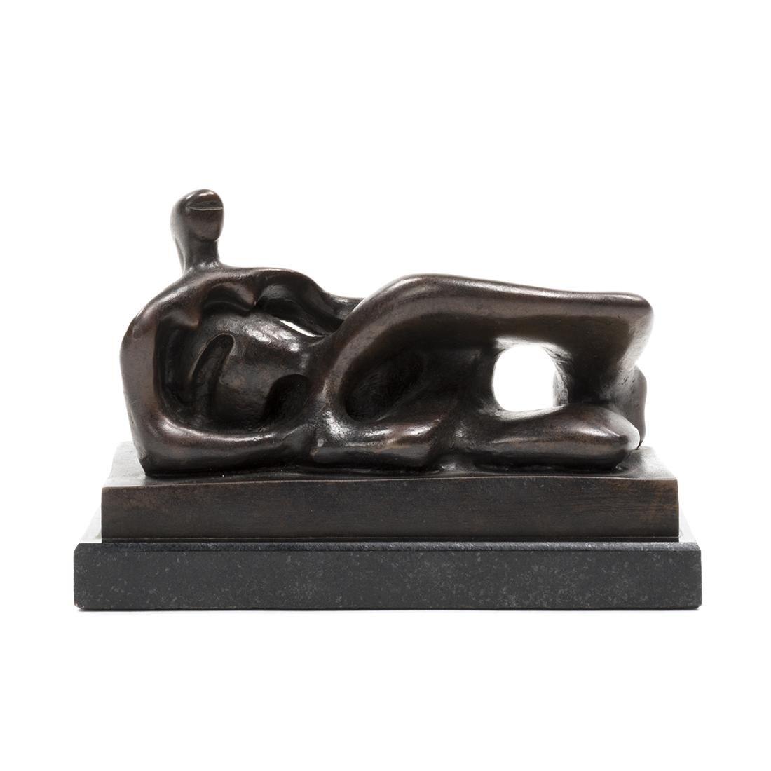 Henry Moore Bronze Sculpture