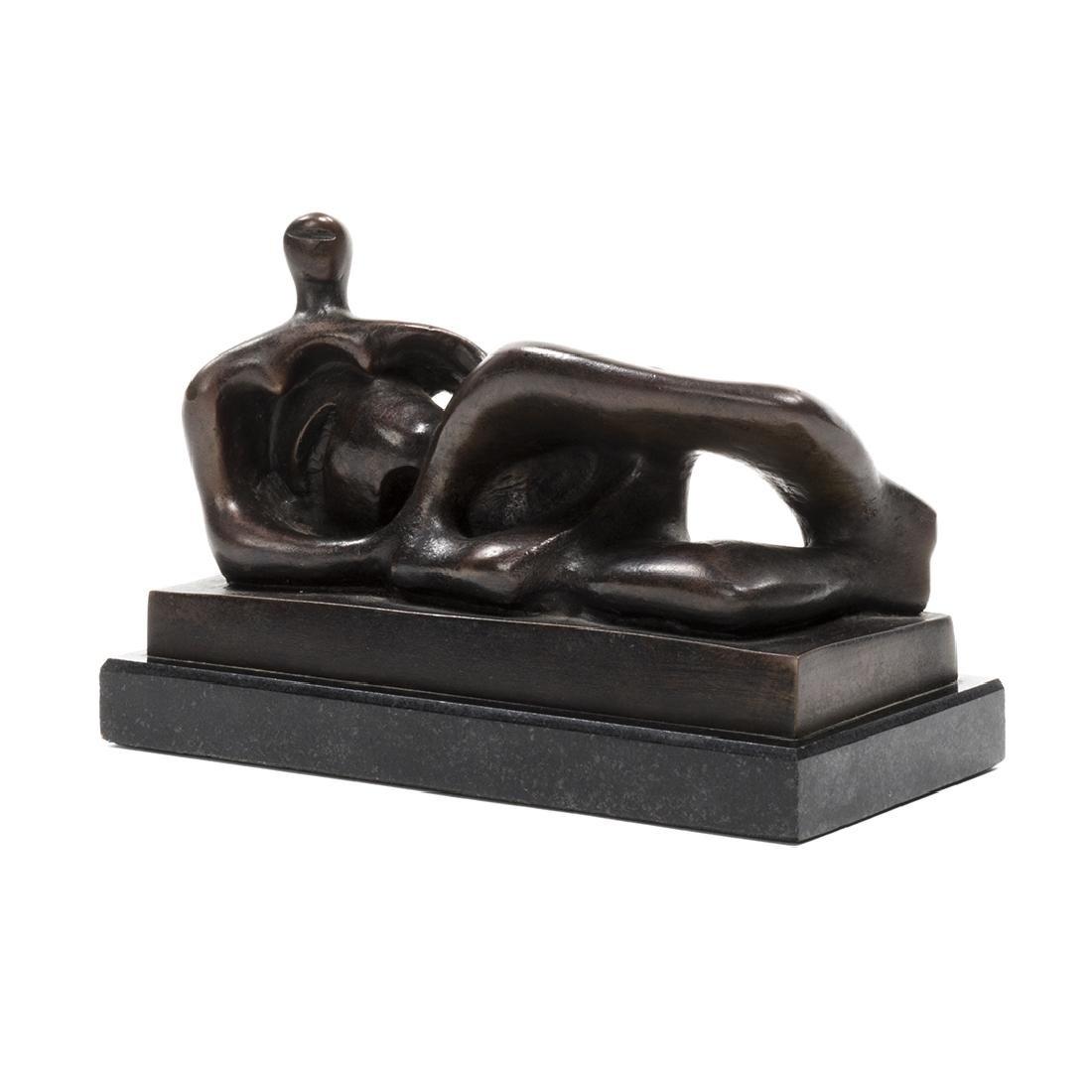 Henry Moore Bronze Sculpture - 2