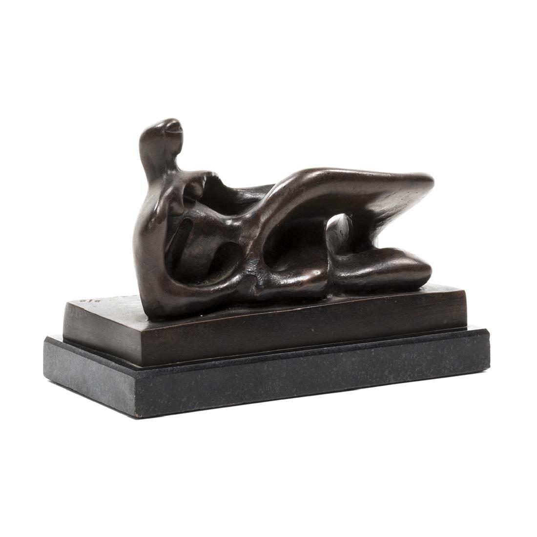 Henry Moore Bronze Sculpture - 3