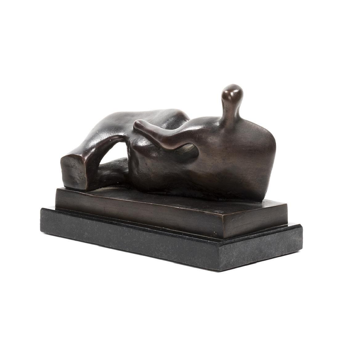 Henry Moore Bronze Sculpture - 5