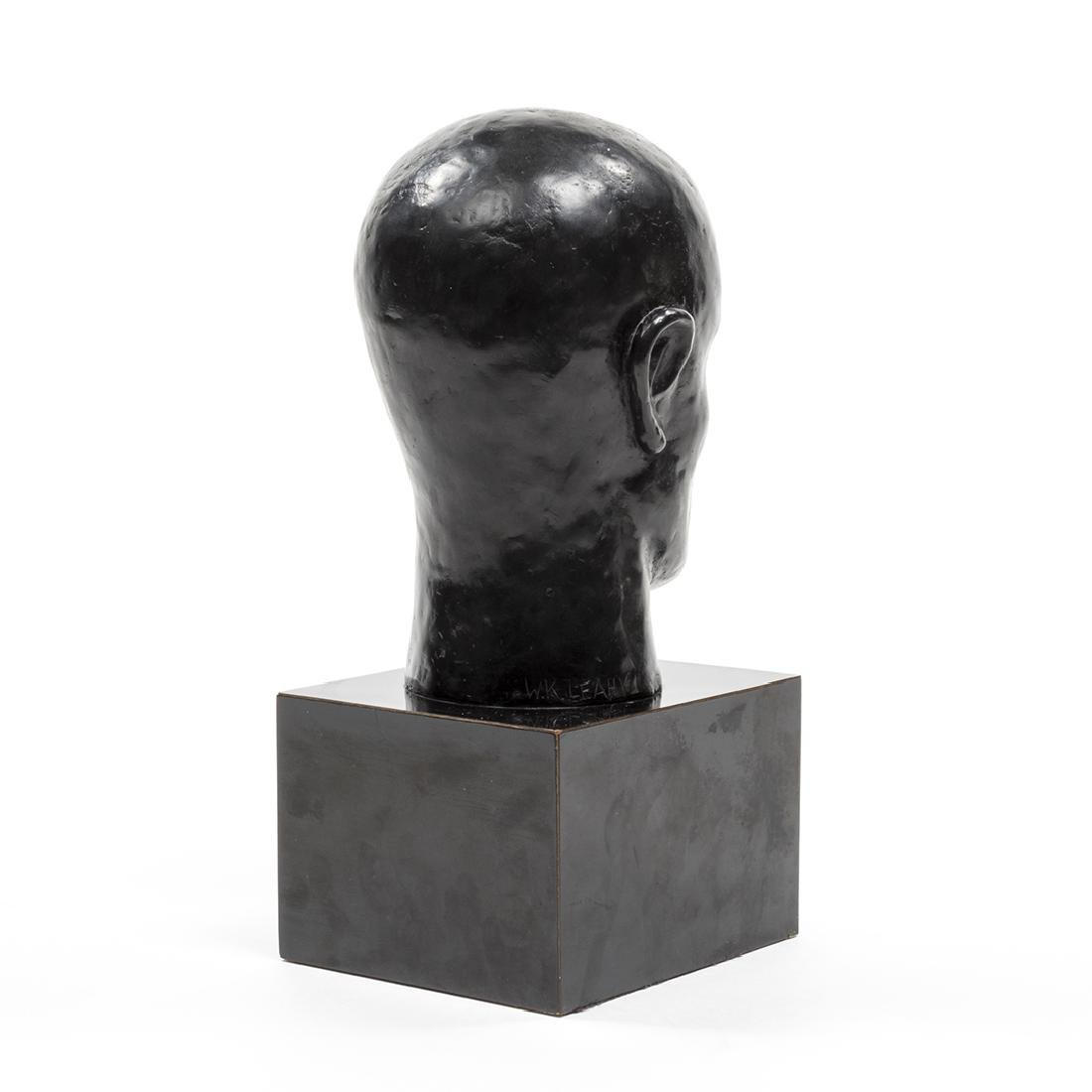 Bronze Head Sculpture - 4
